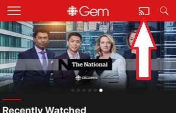 How do I use Chromecast with CBC Gem? – CBC Help Centre